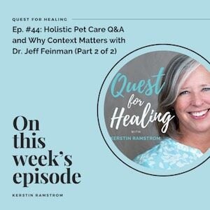 Quest for healing podcast, Dr. Jeff Feinman, Holistic veterinarian